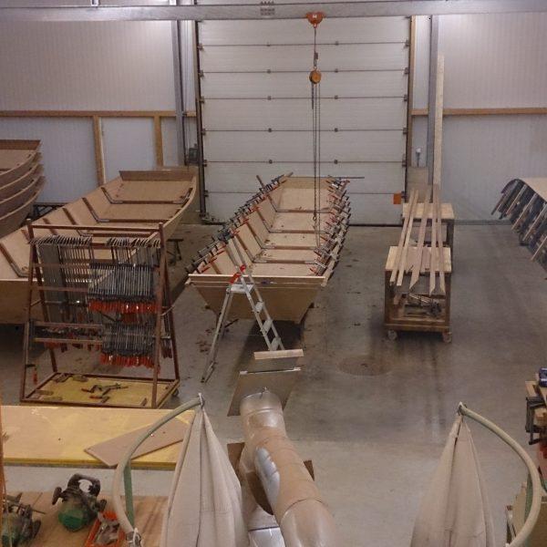 Bootsbau Werkstatt