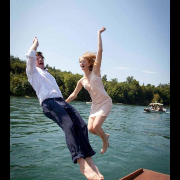 Hochzeit Taxiboot