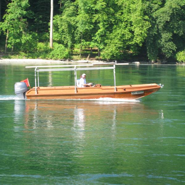 Rhein Holzboot Bootsbau