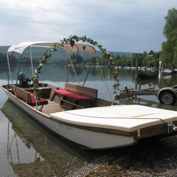 Mietboot Hochzeit Rhein