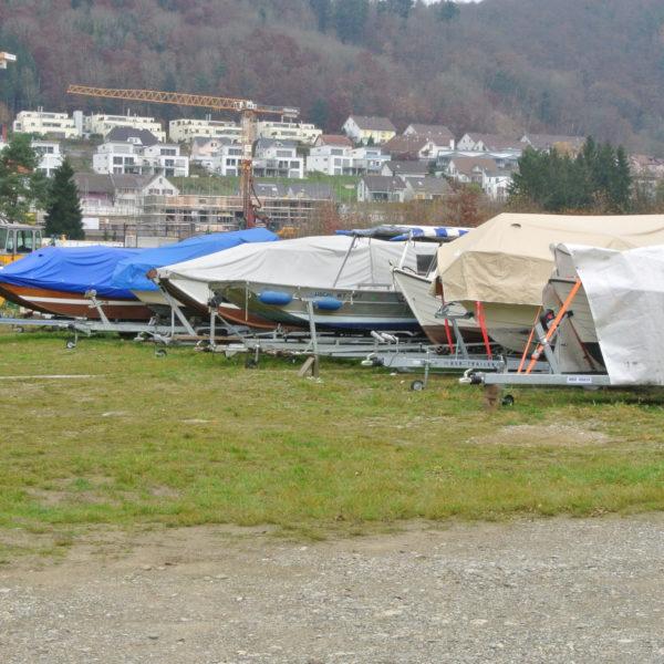 Aussenlager Boote